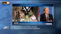 BFMTV Replay du 25 février : une vidéo sur Internet montre les otages enlevés au Cameroun - 25/02