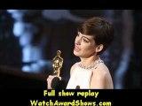 85th Oscars Anne Hathaway accepts an award onstage Oscars 2013