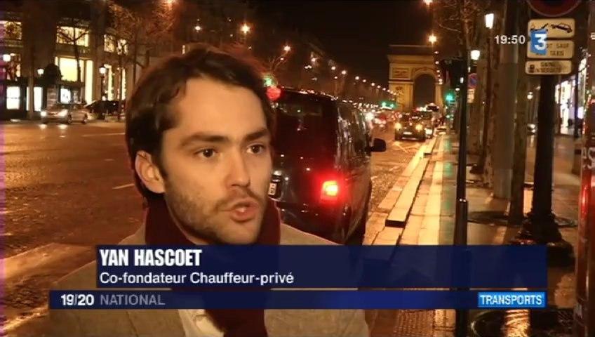 FRANCE 3 - le 19/20 NATIONAL du 16/02/2013 - Voitures Jaunes