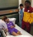 Didier Drogba envoie un joueur à l'hôpital !