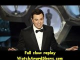 #Seth MacFarlane speaks onstage Oscars 2013