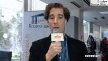 """26/02/13 : Les Experts de Bourse Direct dans l'émission """"Duplex Bourse"""" sur Décideurs TV"""