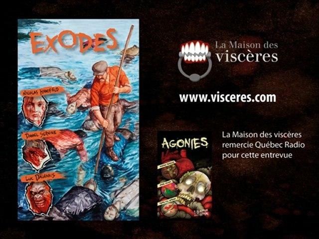 L'auteur bizarro Luc Dagenais en entrevue à Québec Radio