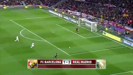 Barça 1 Madrid 3