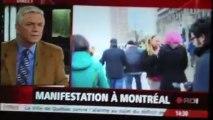 Montréal - manif sommet sur l'éducation supérieure 2013 images en vrac