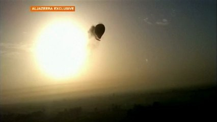 montgolfiere qui explose
