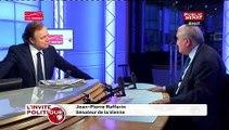 """Jean-Pierre Raffarin : """"François Hollande est le président du chômage. (…) On n'a jamais vu un chômage aussi élevé et des perspectives aussi mauvaises. """""""