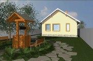 proiect casa parter, casa parter cu posibilitate mansardare,casa ce poate fi mansardata,casa