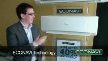 PANASONIC AIRCONDITIONER -ECONAVI TECHNOLOGY - SYSTEM DESIGNING +919825024651