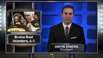 Streaking Bruins Take Out Islanders