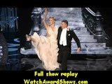 Academy Awards Actress Charlize Theron and actor Channing Tatum dance onstage Academy Awards 2013
