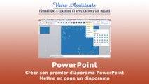 Créer son premier diaporama PowerPoint - Mettre en page un diaporama (1/4)