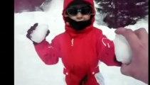 Nathan à la neige
