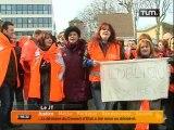 L'oblique AZ: les salariés toujours en grève