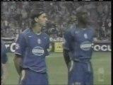 2004 (September 15) Ajax Amsterdam (Holland) 0-Juventus (Italy) 1 (Champions League)