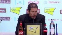 """Coupe du Roi - Simeone : """"Tout simplement heureux"""""""