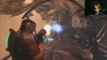 "DEAD SPACE 3: ""Livestream"" Lets Play | Part 4 (Face Cam)"