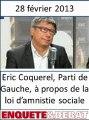 Eric Coquerel du Parti de Gauche sur l'amnistie sociale