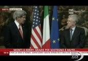 Kerry: elezioni italiane esprimono al massimo democrazia-VideoDoc. Il segretario di Stato americano incontra il premier Mario Monti