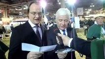 Mon intronisation avec M Wulfran DESPICHT, Vice-Président du Conseil régional Nord-Pas-de-Calais par la confrérie de Bergues et son Grand Maître M Paul LAMMIN