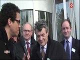 Visite de Jean-Louis Borloo à l'UDI d'Annecy