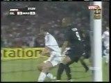 2005 (September 13) Olympique Lyonnais (France) 3-Real Madrid (Spain) 0 (Champions League)