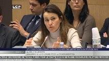 Travaux en commission : Audition commune d'Aurélie Filippetti, Ministre de la culture et de la communication et Michel Sapin, Ministre du travail et de l'emploi