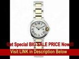 10[REVIEW] Cartier Women's W69007Z3 Ballon Bleu Stainless Steel and 18K Gold Watch