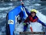 kayak raft Ubaye Barceonnette Rafting Ubaye
