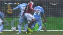 AC Milan 3 - 0 Lazio- All goals - Commentary  by Mauro Suma 2-3-2013