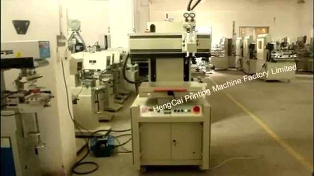 Flat Bed Screen Printing Machine,China Flat Screen Printer