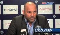 Ligue 1 / Les réactions d'E. Didot et P. Dupraz après Toulouse - Evian - 02/03