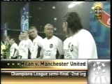 2007 (May 2) AC Milan (Italy) 3-Manchester United (England) 0 (Champions League)