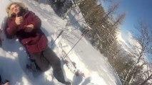 Les franco-libanais font du ski