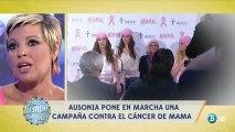 Maria Teresa Campos y Terelu campos hablando del cancer