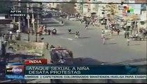 Protestas en India por nuevo caso de abuso sexual a una niña