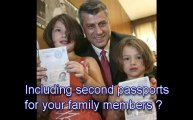 second passport, second passports, second citizenship, st kitts citizenship, second passport citizen