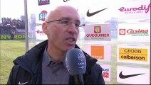 Interview de fin de match : Stade Brestois 29 - Olympique Lyonnais - saison 2012/2013