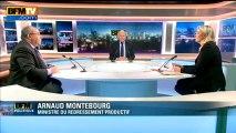 BFM Politique : l'interview BFM business, Marine Le Pen répond aux questions d'Emmanuel Lechypre - 03/03