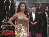 Catherine Zeta-Jones Oscars 2013 Fashion Arrivals