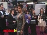 Halle Berry Oscars 2013 Fashion Arrivals