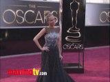 Kristin Chenoweth Oscars 2013 Fashion Arrivals