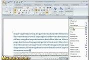 Tutoriel WORD 2007: Cours N°1 Se Répérer dans l'écran de Word 2007