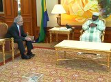 Gabon: Audience du Président Ali Bongo Ondimba avec l'Ambassadeur de France au Gabon