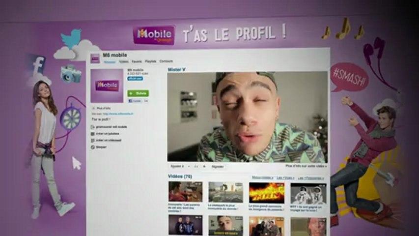 T'as le profil pour tourner une vidéo avec Mister V ? | M6 Mobile - Case Study