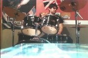 Bee-Gees More Than A Woman Drum Cover ( Romano )