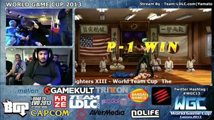 WGC13 World Team Cup KOFXIII Partie 2