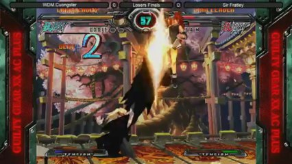 Guilty Gear Accent Core Top 6