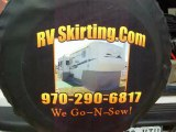 Travel Star Trailer Skirting, RV Skirts, 5th Wheel Skirting, Fifth Wheel Skirts, Custom Skirting