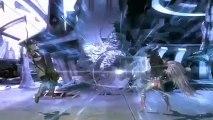 Injustice : Les Dieux Sont Parmi Nous - Gameplay d'un combat entre Green Arrow et Hawkgirl